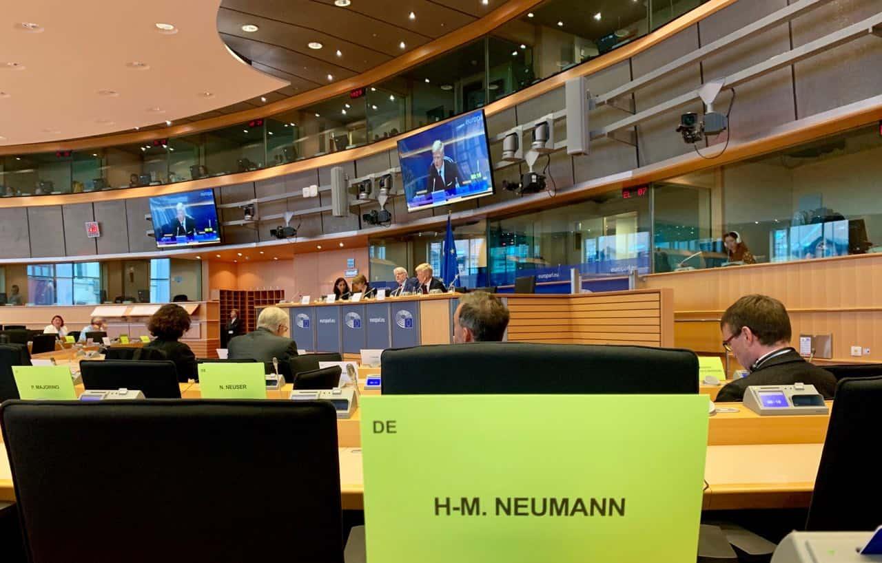 Aussprache mit Jemen-Delegation-Leiter Hans Grundberg im Außenausschuss (AFET)