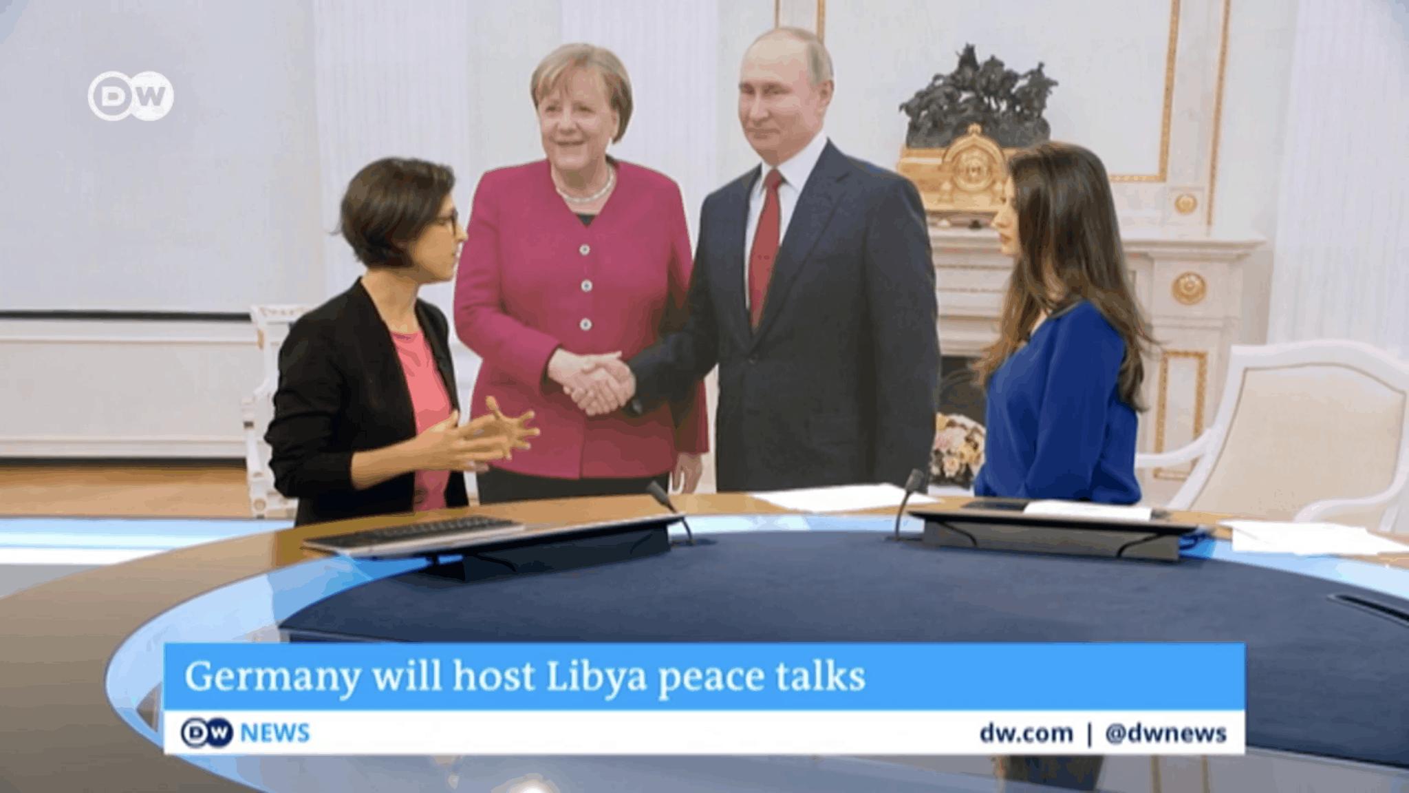 Hannah Neumann zu Gast bei der Deutschen Welle
