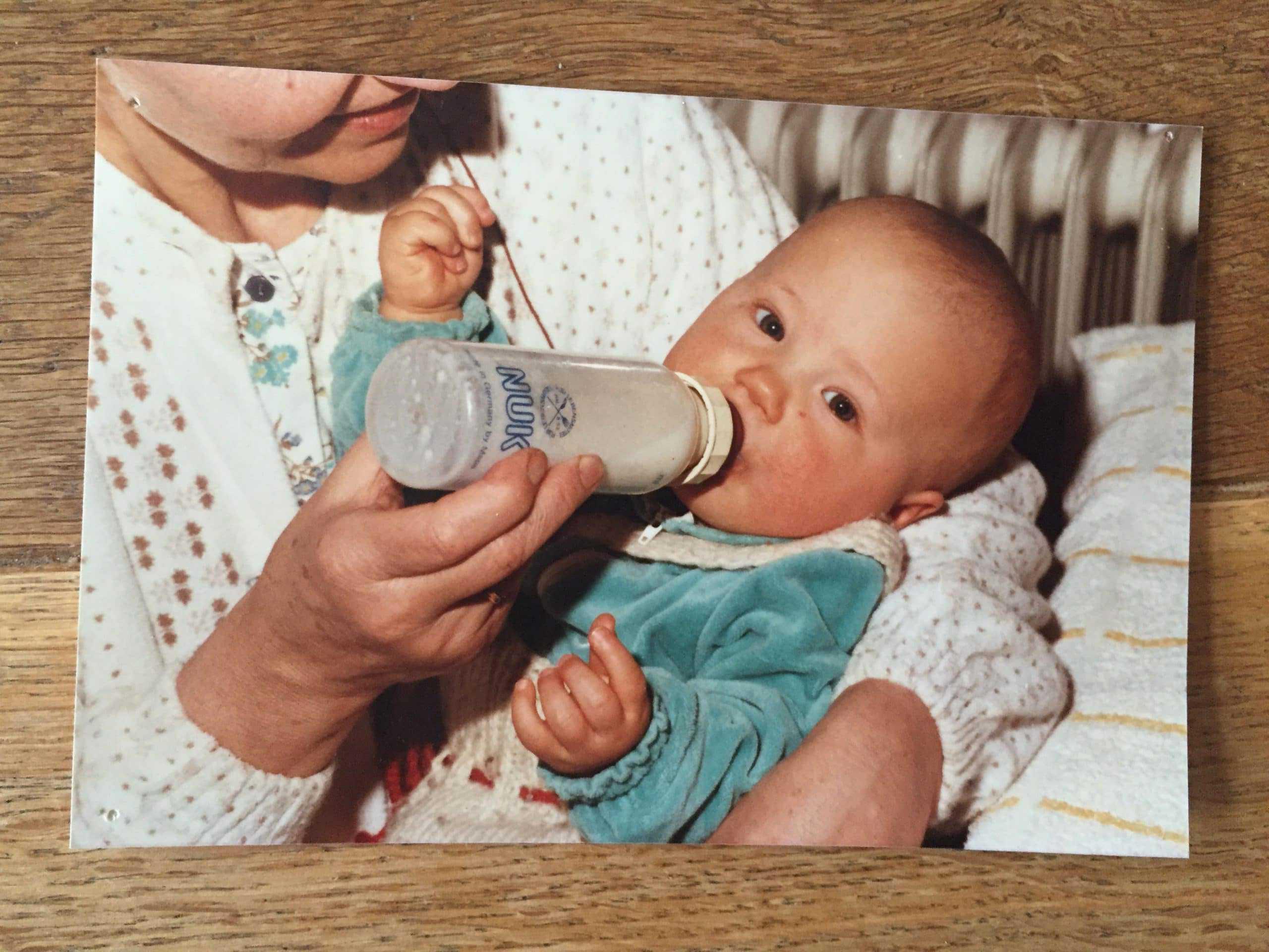 Hannah als Baby