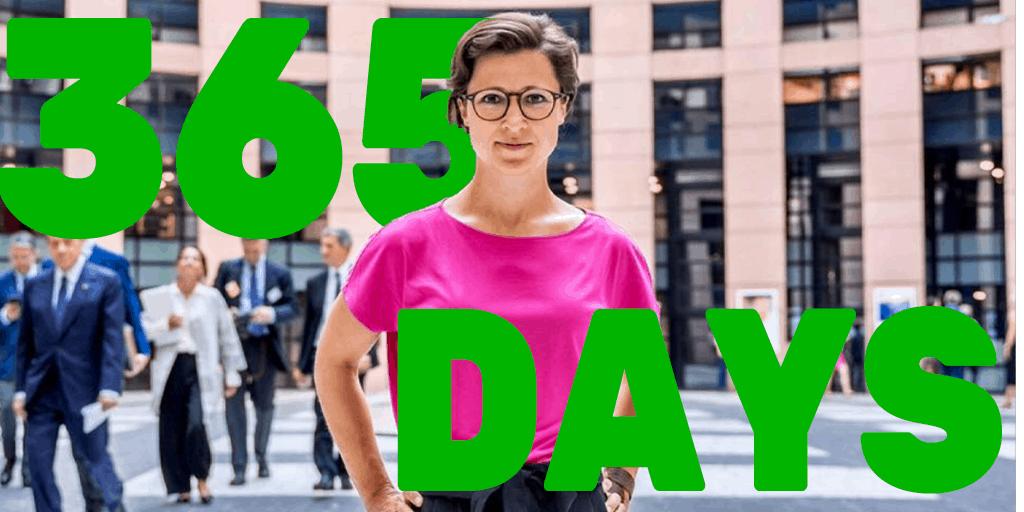 365 Tage Europa, 4x Corona - und ... 1 Parlament, das erwacht