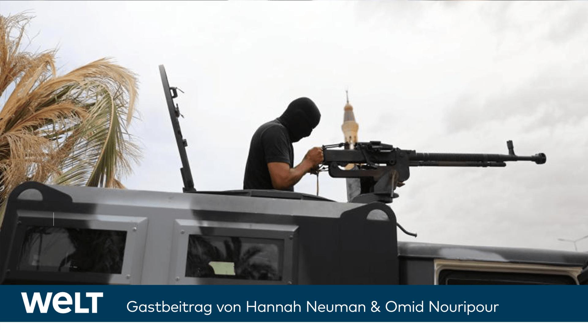 Weil Europa streitet, regiert in Libyen weiter die Gewalt - Mein Gastbeitrag in der WELT