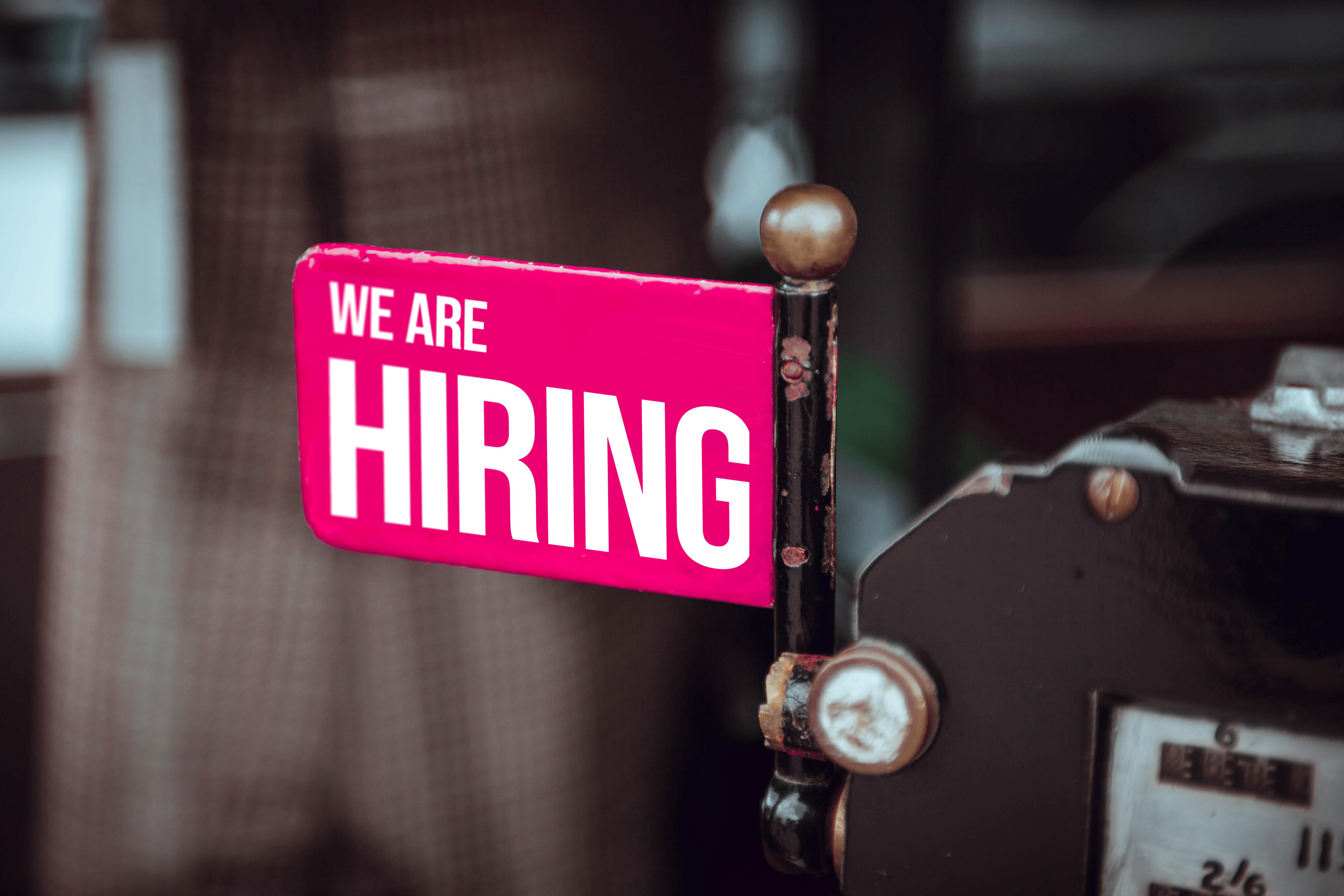 We're hiring! Ausschreibung für ein Praktikum im Brüsseler Büro