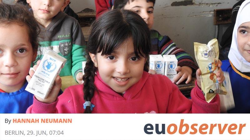 Krieg in Syrien: Mit humanitärer Hilfe allein ist es nicht getan - Mein OpEd im euobserver