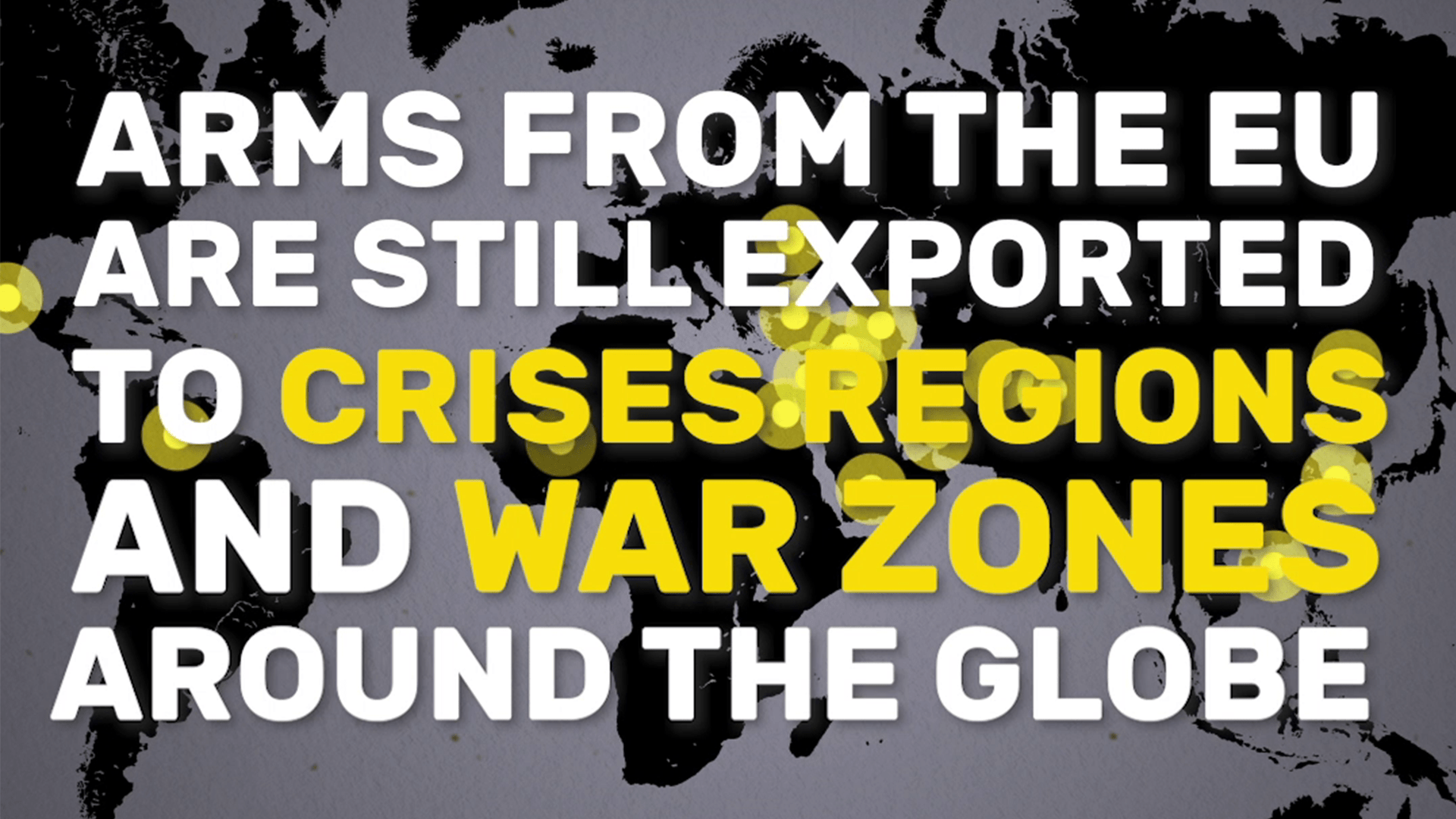 My report on arms exports has been confirmed by the Foreign Affairs Committee