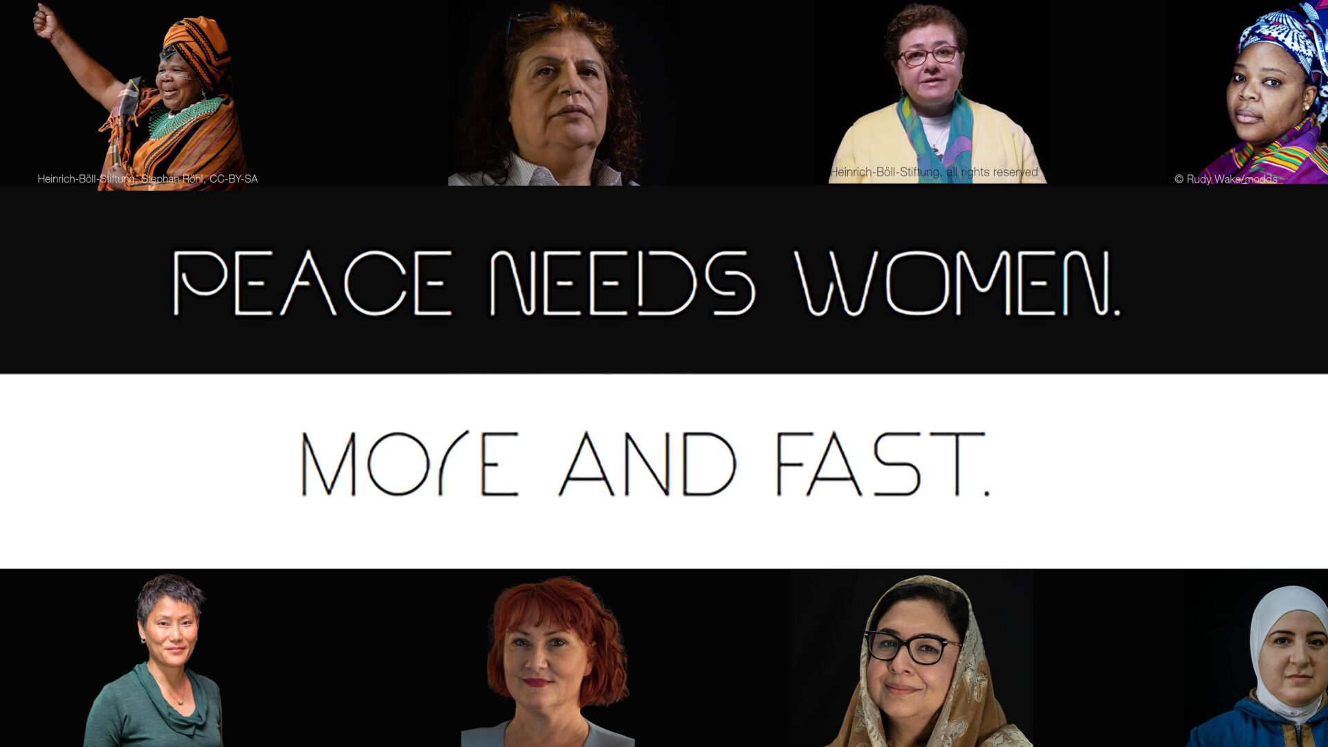 #SHEcurity: Peace needs women. More and fast.