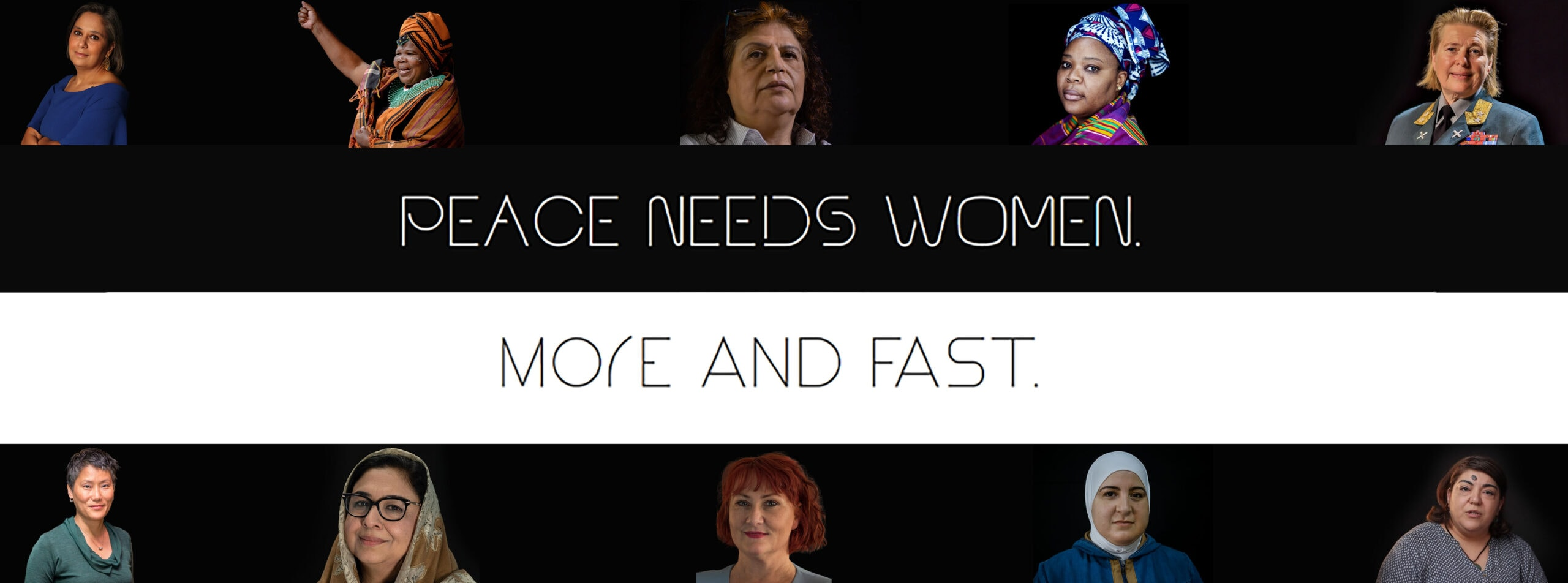 Hannahs Monthly - #SHEcurity: Peace needs women. More and fast! – Ein Monat im Zeichen der UN-Resolution 1325