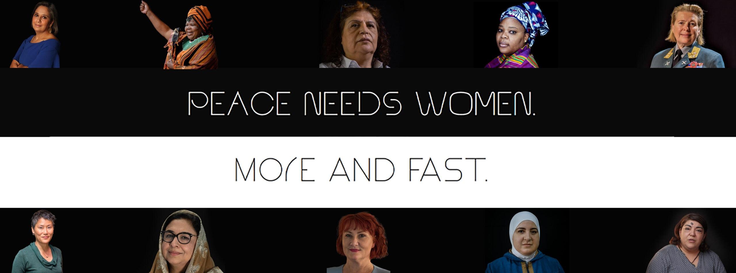 Hannahs Monthly - #SHEcurity: Peace needs women. More and fast! – Ein Monat im Zeichen der UN-Resolution 1325