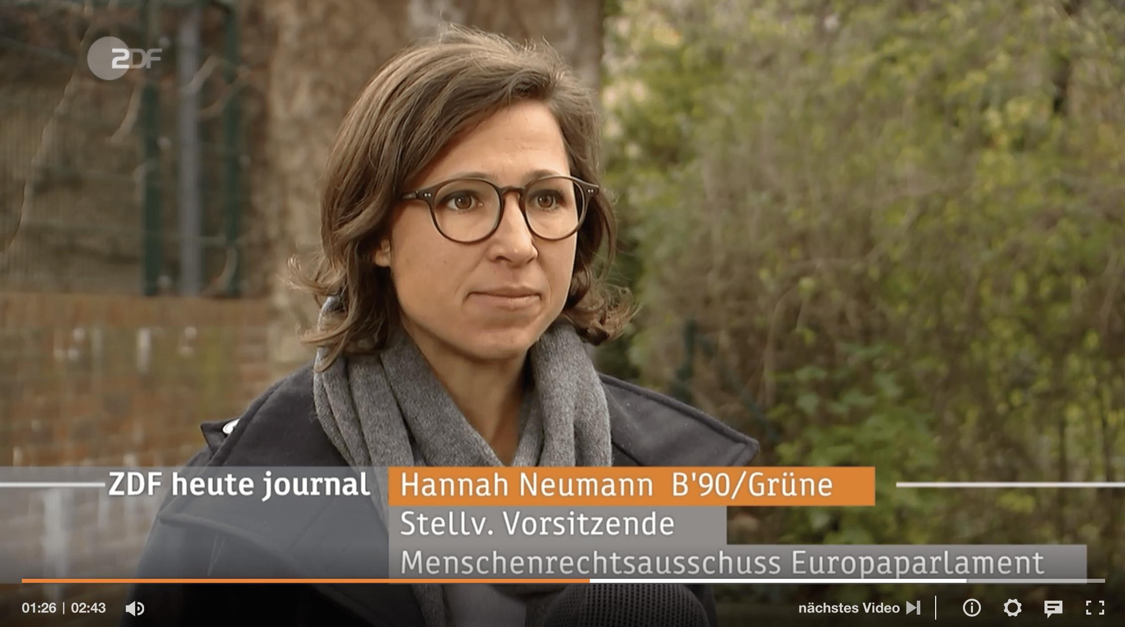 G20 in Saudi Arabien – Mein Interview zu saudischen Menschenrechtsverteidiger*innen im heute-journal